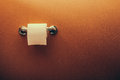 Toilet Paper Roll On Wall 1 Stock Photography - 45364312