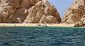 Water Taxi At Lovers Beach Cabo San Lucas Royalty Free Stock Image - 45368546