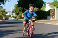 New Bicycle Boy Royalty Free Stock Photo - 45368945