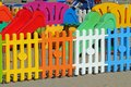 Fence A Playground On The Beach Tourist Village Stock Images - 45372364