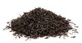 Dry Black Tea Leaves Isolated Stock Photography - 45377242