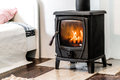 Wood Burning Stove Royalty Free Stock Photos - 45377408