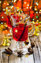 Christmas Punch Royalty Free Stock Photography - 45379077