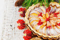 Christmas Apple Pie Royalty Free Stock Photography - 45384827
