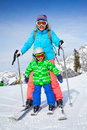 Family Enjoying Winter Vacations. Royalty Free Stock Images - 45387259