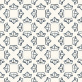 Seamless Nautical Pattern With Paper Boats. Stock Image - 45388761