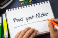 Find Your Niche Stock Images - 45390014