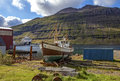 Old Fishing Boat In Iceland2 Royalty Free Stock Photos - 45396298