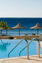 Swimming Pool And Ocean Stock Images - 4545984