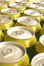 Golden And Silver Cans Royalty Free Stock Photo - 4549185