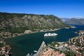 Cruise Ship In The Bay Of Kotor In Montenegro. Royalty Free Stock Photos - 45404968
