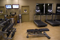 Health Club Hotel Gym Room Royalty Free Stock Images - 45405439