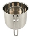 Stainless Steel Cooking Pot Isolated Stock Image - 45407741