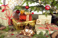 Christmas Tree With Gifts Royalty Free Stock Photography - 45421507