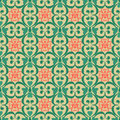 Oriental Seamless Pattern Damask Arabesque And Floral Elements B Royalty Free Stock Photography - 45431457