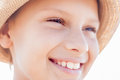 Cute Kid Happy Smile Face Royalty Free Stock Photography - 45432697