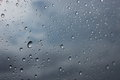 Water Raindrop On Glass Window Royalty Free Stock Photography - 45440877