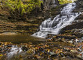 Giant S Staircase Waterfall And Pool Royalty Free Stock Photos - 45442588