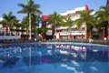 Quiet Pool In Mexican Hotel, Mexico Royalty Free Stock Photos - 45467428