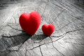 Two Hearts Royalty Free Stock Images - 45472239