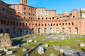 Forum And Market Of Trajan In Rome Stock Image - 45499471