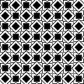 Seamless Geometric Pattern Of Squares And Rhombuses Royalty Free Stock Image - 45510336