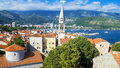 View Of The Old Budva, Montenegro Royalty Free Stock Image - 45512016