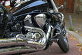 Chrome Motorcycle Engine Closeup Royalty Free Stock Image - 45518386