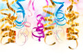 CLose Up Of Colorful Serpentine Streamers Stock Photography - 45521682