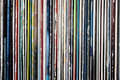 Collection Of Old Vinyl Records Stock Image - 45527331