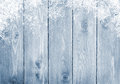 Blue Wood Texture With Snow Royalty Free Stock Images - 45528539
