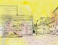 City Sketch Stock Images - 45549284
