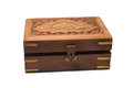 Treasure Box Closed Royalty Free Stock Photography - 45564517