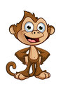 Cheeky Monkey Character Royalty Free Stock Photography - 45570047