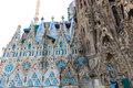 Barcelona Cathedral Or Sagrada Familia Cathedral - Spain Royalty Free Stock Photos - 45573848