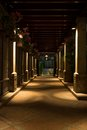 Walkway Pillars Royalty Free Stock Image - 45594986