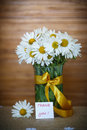 Beautiful Bouquet Of White Daisies Royalty Free Stock Photos - 45596388