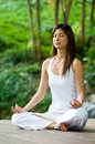 Yoga Outdoors Royalty Free Stock Images - 4560259