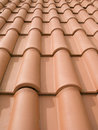 New Orange Roof Tiles Stock Images - 4560354