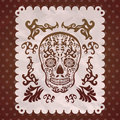Dia De Muertos - Mexican Day Of The Death Spanish Royalty Free Stock Photo - 45604965