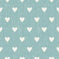 Abstract Seamless Retro Pattern With Hearts Stock Photos - 45632283