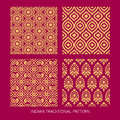 Indian Pattern Design Royalty Free Stock Photos - 45632588