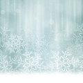 Abstract Silver Blue Christmas, Winter Background Royalty Free Stock Photo - 45635815