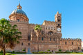 Palermo Cathedral, Sicily, Italy Royalty Free Stock Images - 45635859