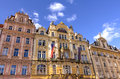 Architecture In Prague Royalty Free Stock Photography - 45636527