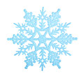 Blue Snowflake. Royalty Free Stock Photography - 45639077