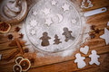 Freshly Decorated Home Made Christmas Cookies Stock Image - 45685301