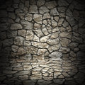 Old Grunge Wall Of Rough Stones As Background Royalty Free Stock Photos - 45710278