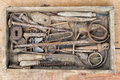 Old And Rusty Hand Tool Royalty Free Stock Photography - 45713747