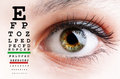 Eye Test Stock Images - 45724724